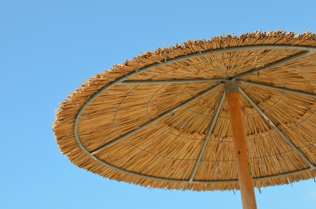 Parasolka na plaży w Potos
