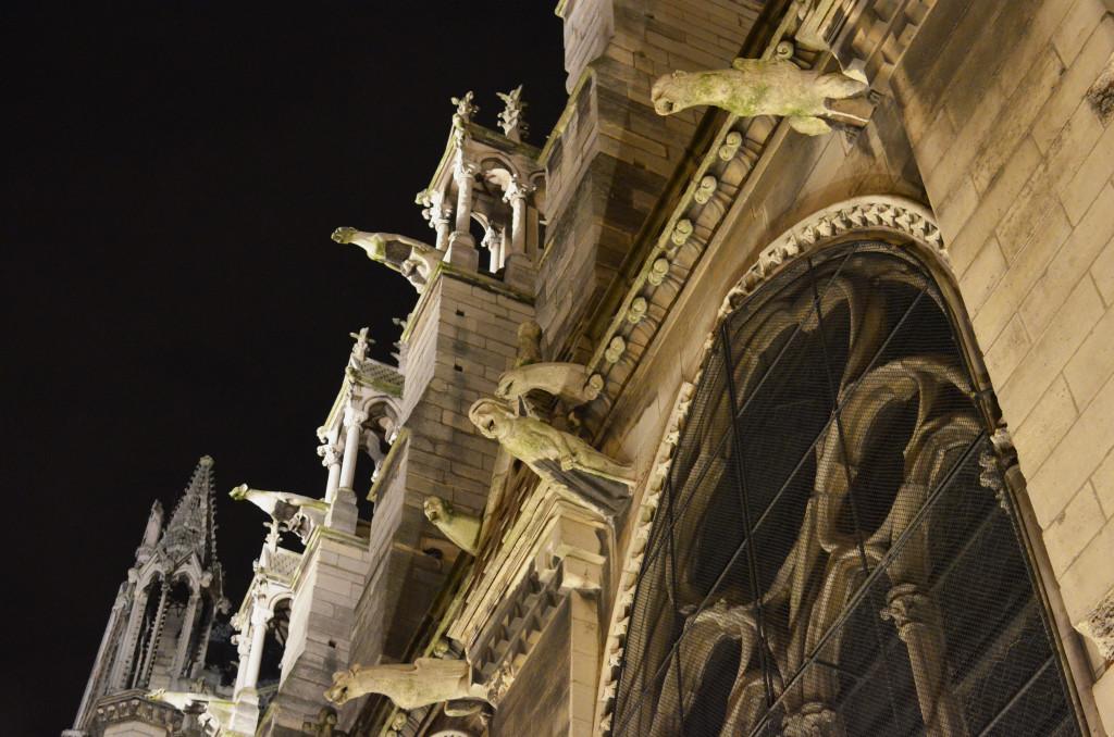 Maszkarony Katedry Notre-Dame
