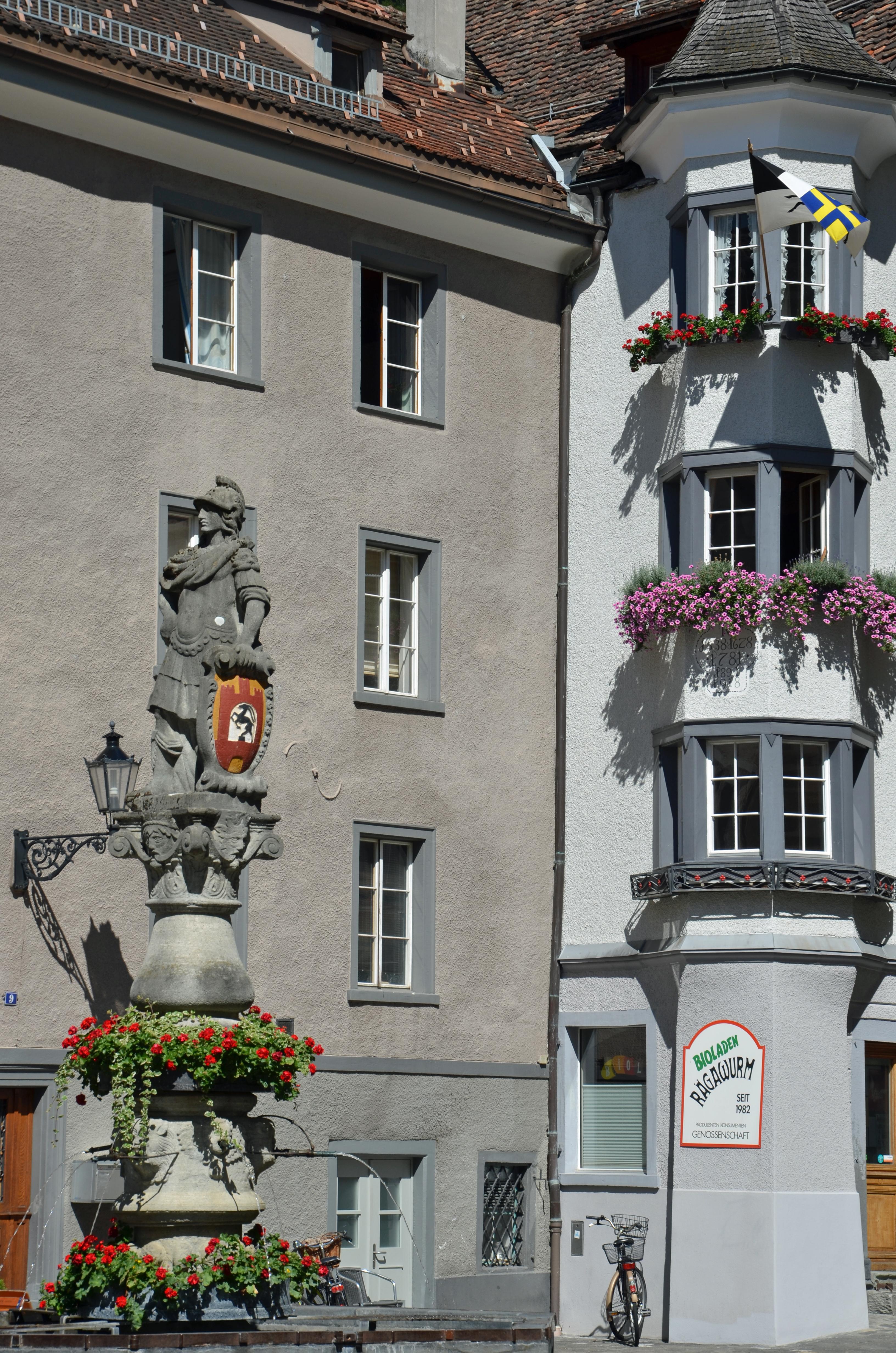 Plac św. Marcina, St. Martinsplatz Chur