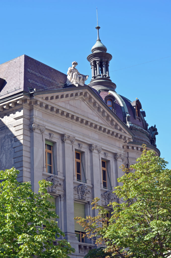 Budynek Poczty, Postgebäude Chur