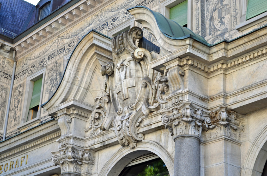 Budynek Poczty w Chur (Postgebäude)