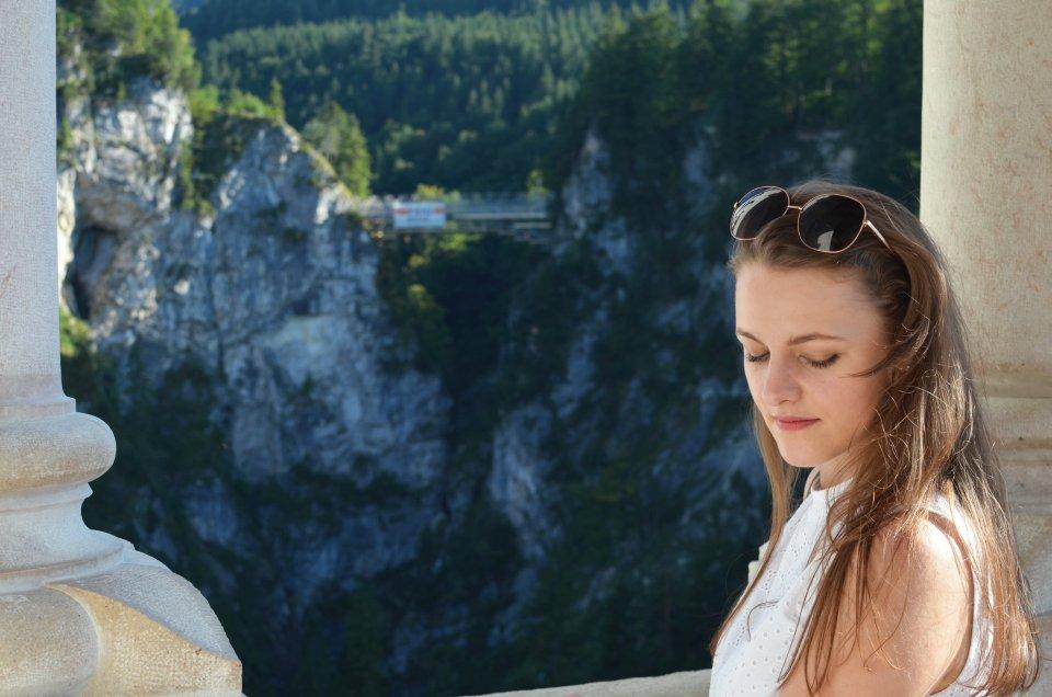 Na zamku Zamek Neuschwanstein