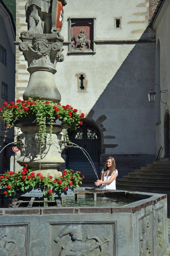 Fontanna na Placu św. Marcina w Chur