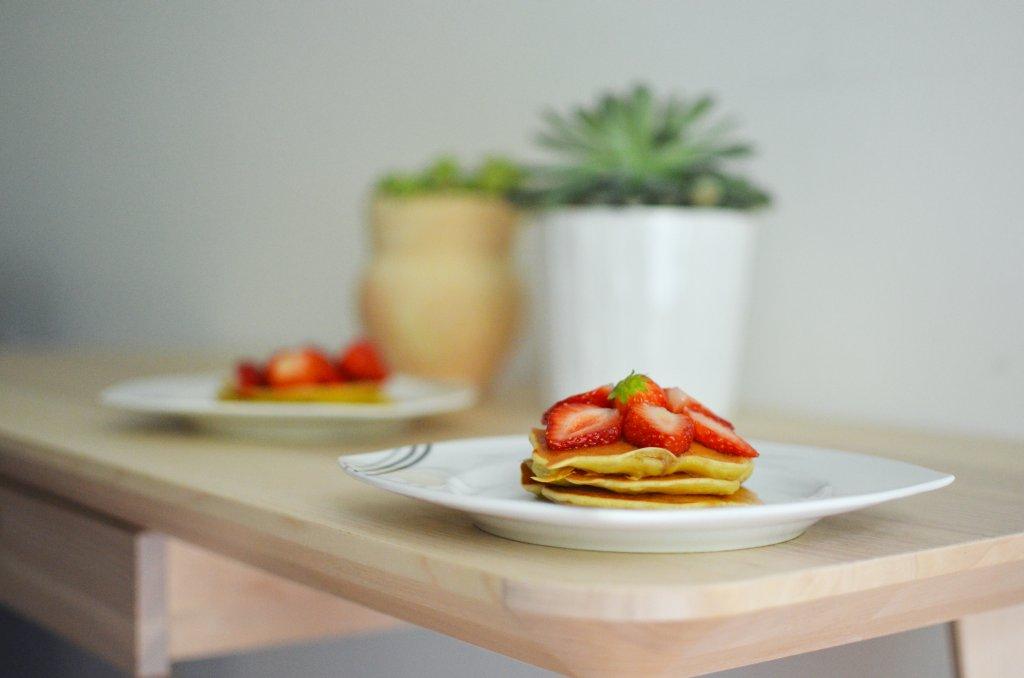 Banana pancakes (fot. M. Armata)