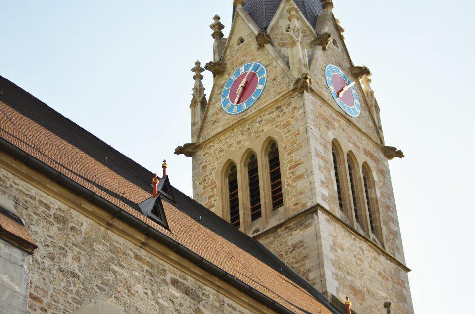 Katedra św. Floryna w Vaduz (fot. M. Armata)