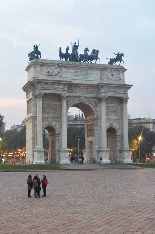 Łuk triumfalny (Porta Sempione)