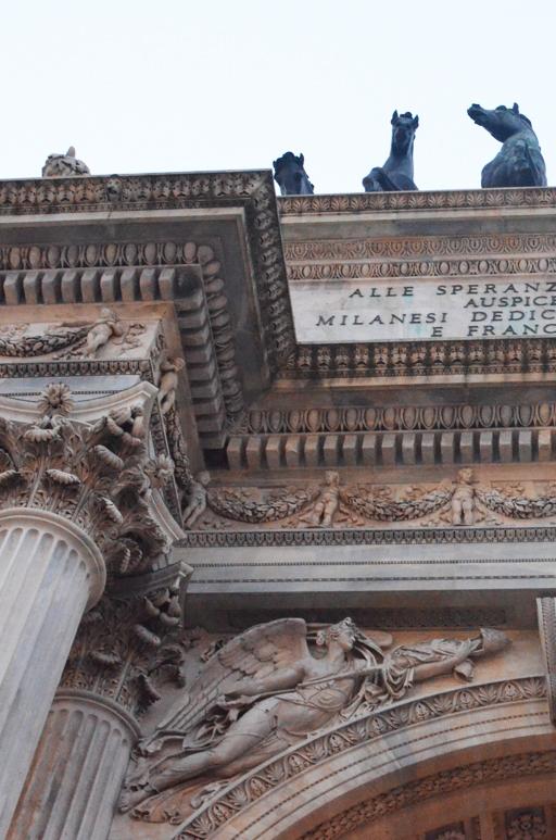 Łuk triumfalny w Mediolanie