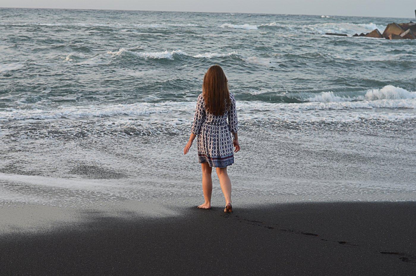 Plaża w Puerto de la Cruz