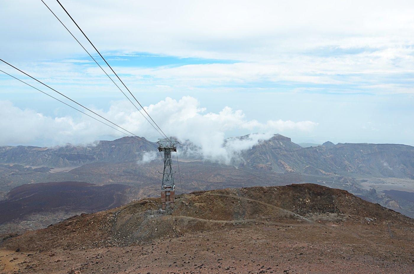 Kolejka na szczyt wulkanu Teide