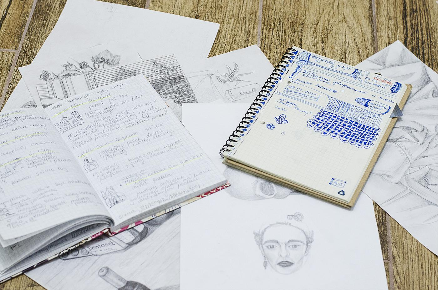 Doodling - kreatywne bazgrolenie