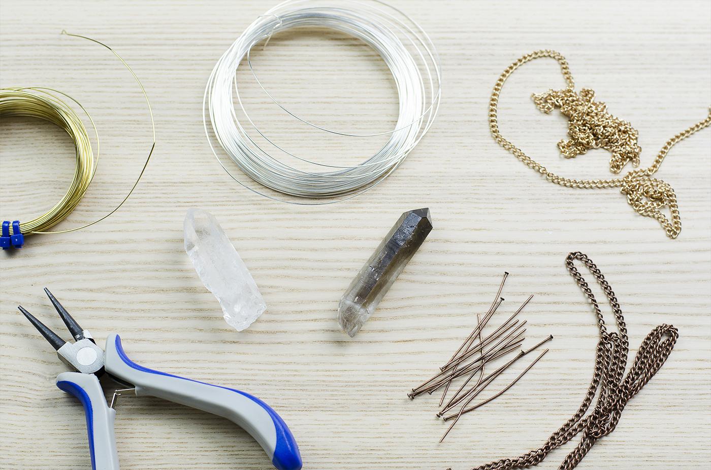 Naszyjnik boho DIY - potrzebne materiały
