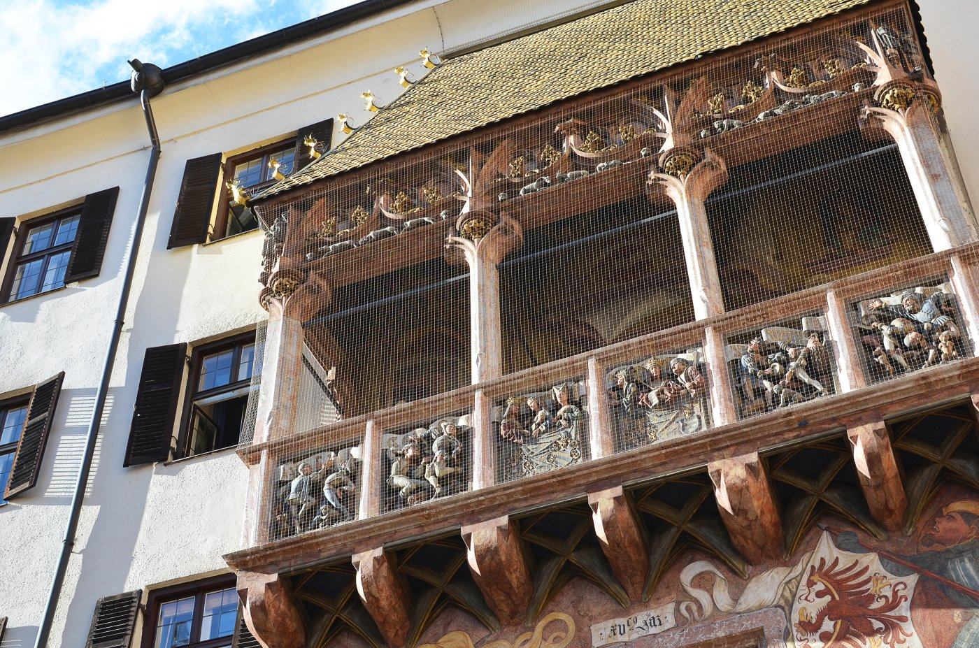 Co warto zobaczyć w Innsbrucku? Innsbruck - Złoty dach (Goldenes dachl)