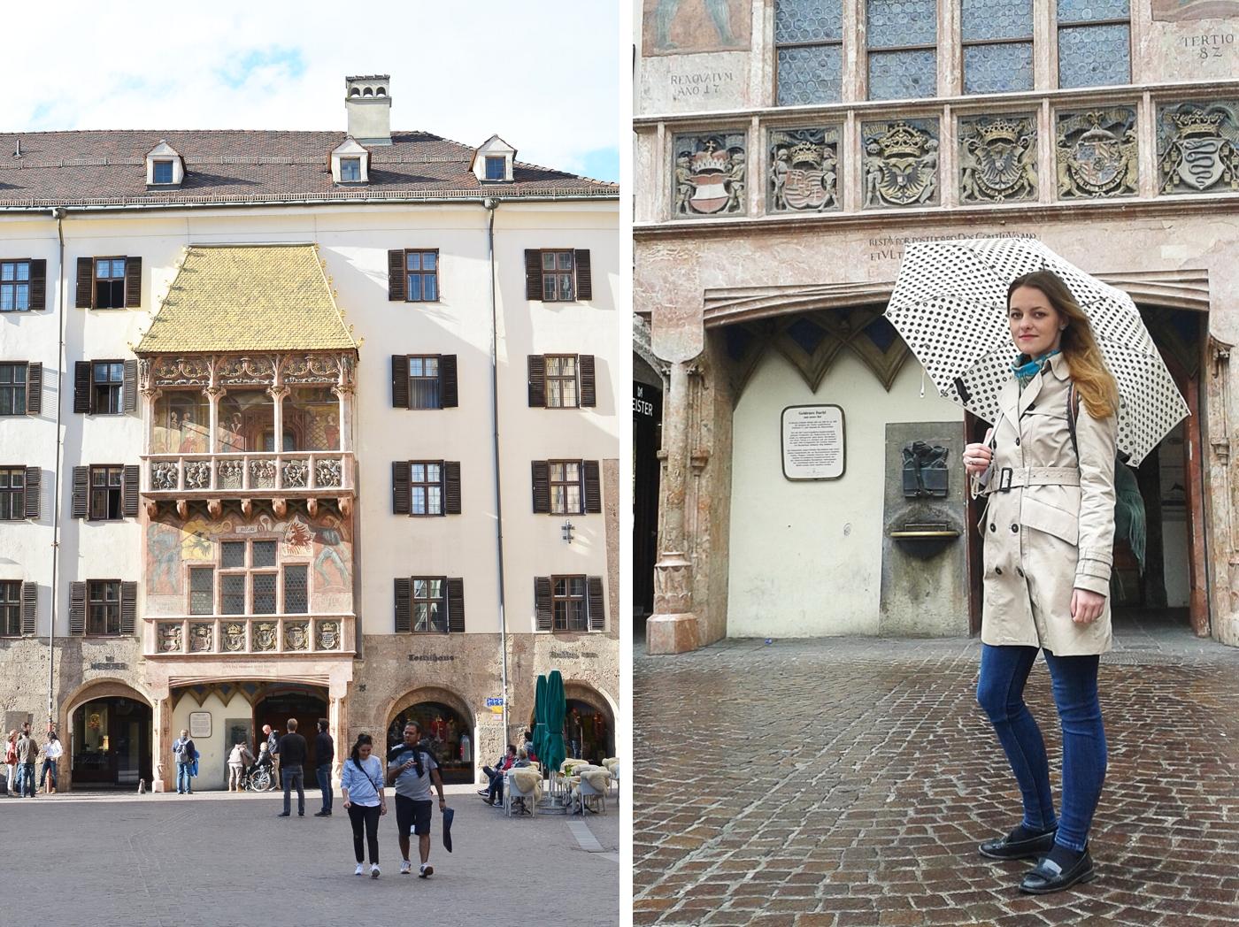 Innsbruck - Złoty dach (Goldenes dachl)