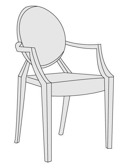 Louis Ghost (Duch Ludwika), klasyki designu