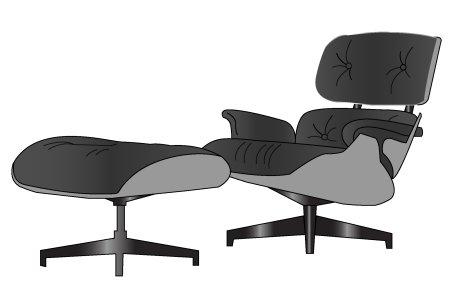 Lounge chair, klasyki designu