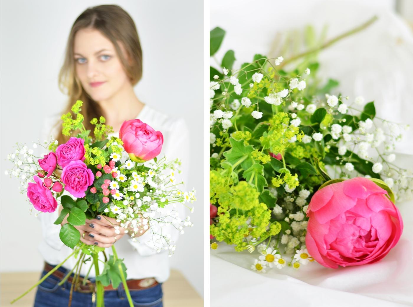 Wiosenny bukiet kwiatów. Polenka - blog DIY