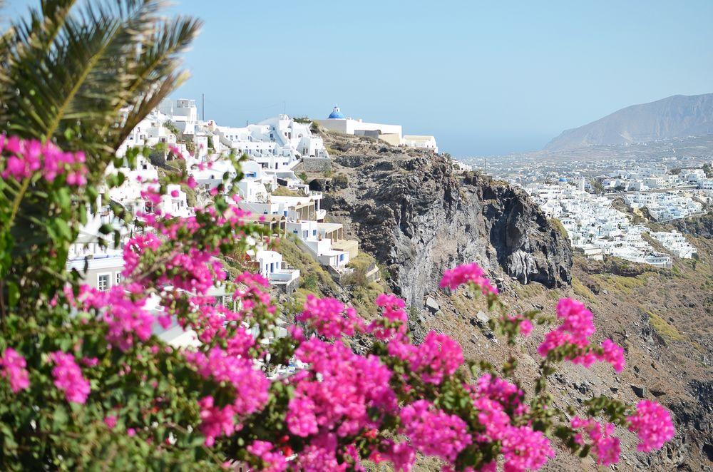 Widoki Santorini, miejscowość Imerovigli