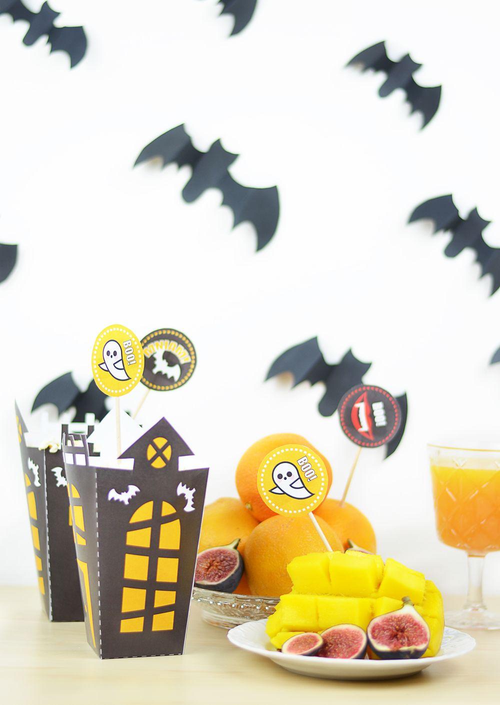 Dekoracje z papieru na Halloween - zrób to sam!
