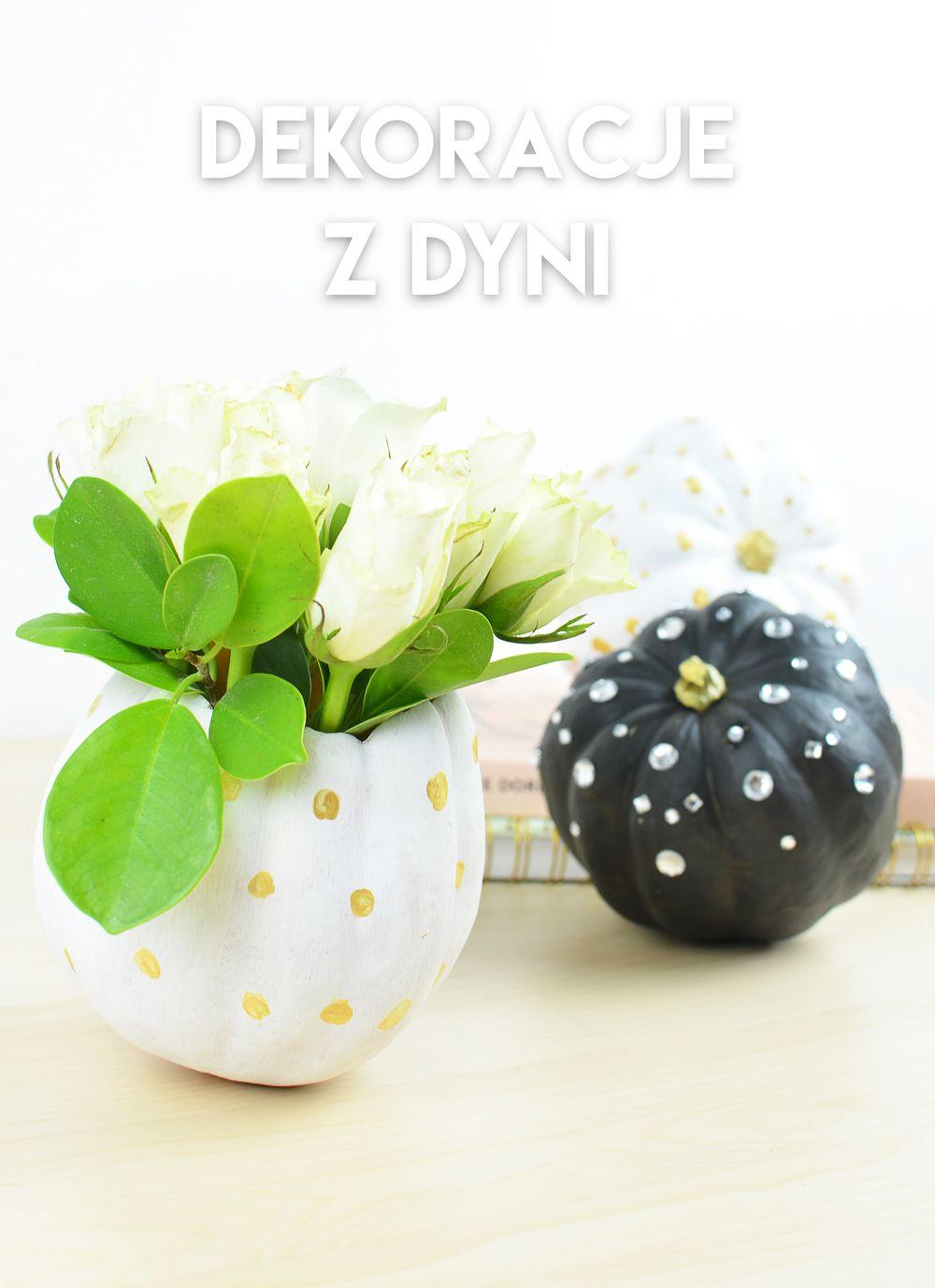 Jesienne DIY: dekoracje z dyni