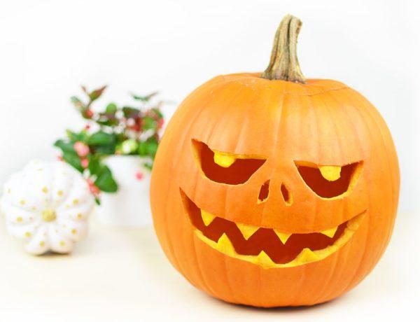Jak wyciąć dynię na Halloween? + Szablon z wzorem do pobrania