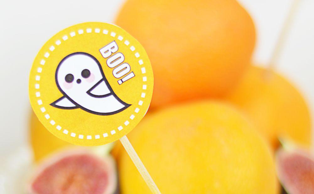 Halloween - etykieta duch