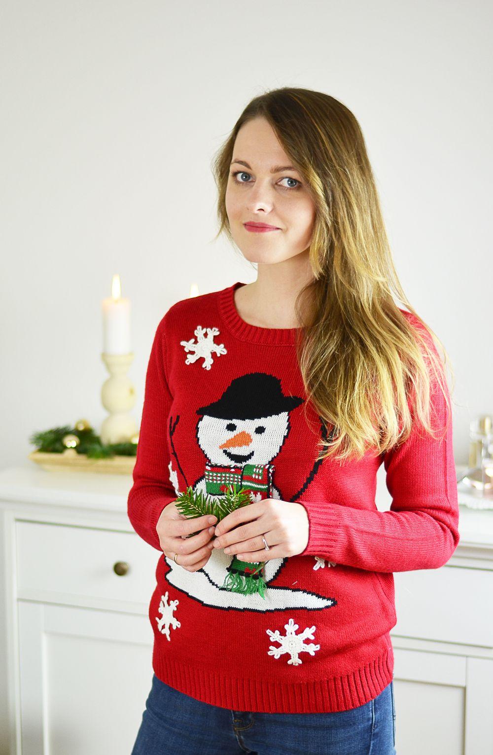 Tradycja brzydkich świątecznych swetrów