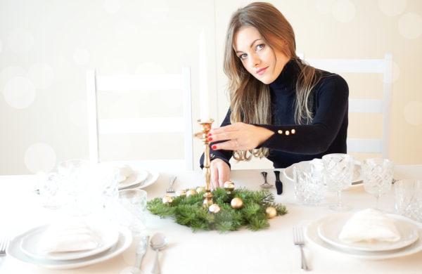 Świąteczne nakrycie stołu - moja aranżacja