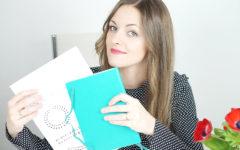 Ładny bullet journal - ramki, wstążki, litery do odrysowania