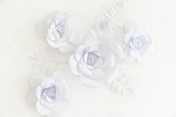 Jak zrobić kwiaty z papieru na ścianę? DIY | Polenka.pl