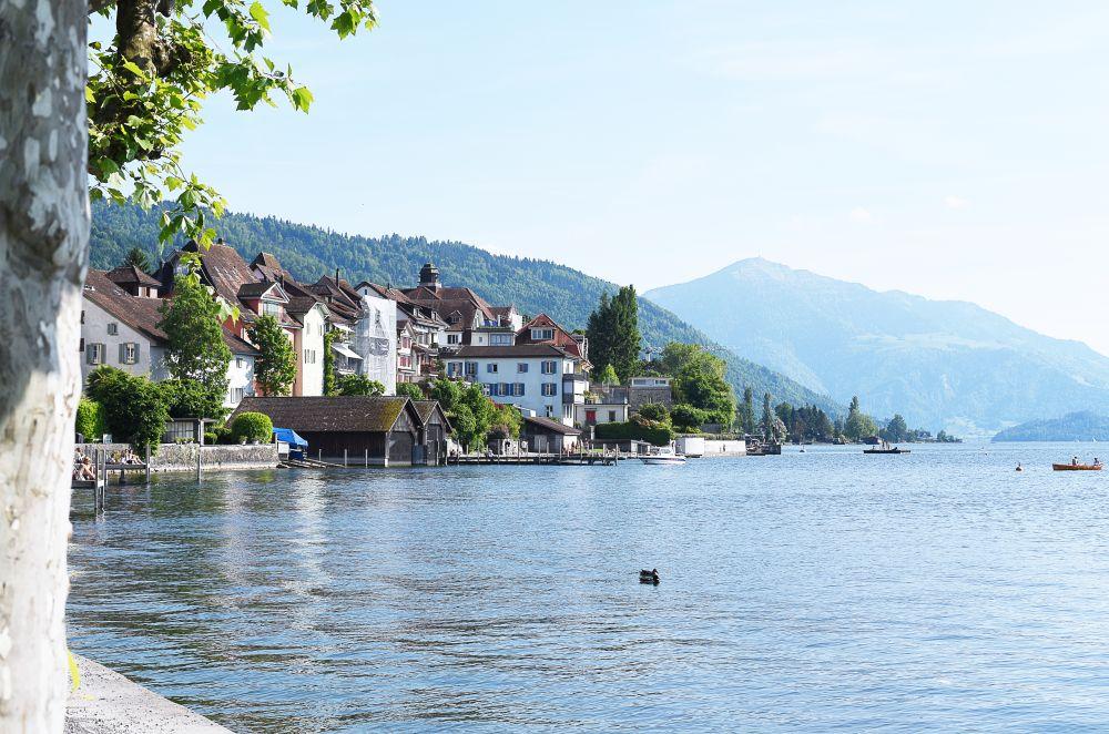 Jezioro Zug w Szwajcarii | Polenka.pl