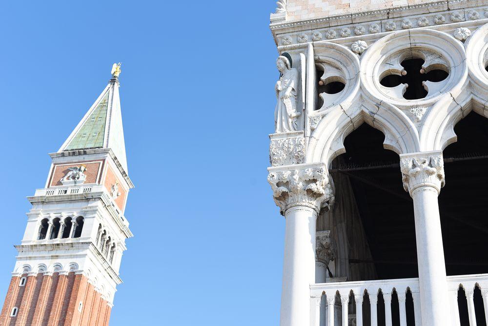 Dzwonnica św. Marka i pałac Dożów w Wenecji | Polenka.pl
