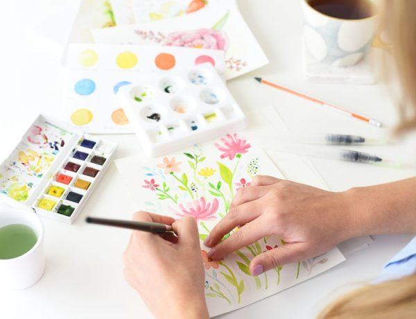 Akwarele - jak zacząć? Podstawowe materiały i sposoby malowania | Polenka.pl