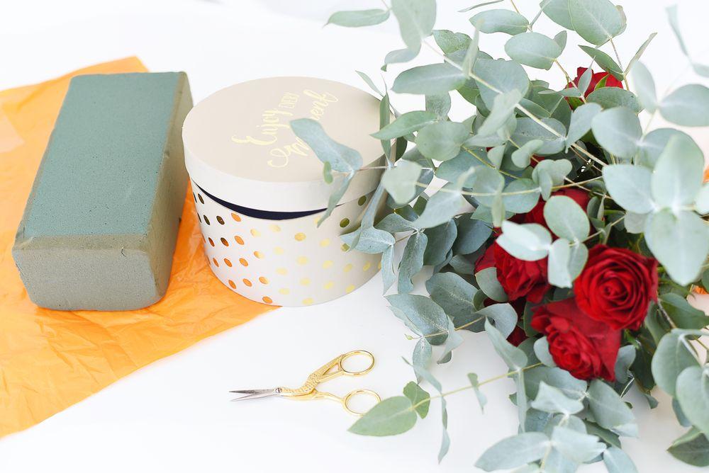 Jak zrobić pudełko z kwiatami? DIY | Polenka.pl