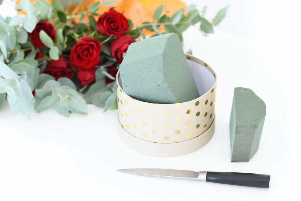 Flower box - gąbka florystyczna | Polenka.pl