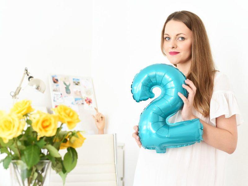 Drugie urodziny bloga! | Polenka.pl