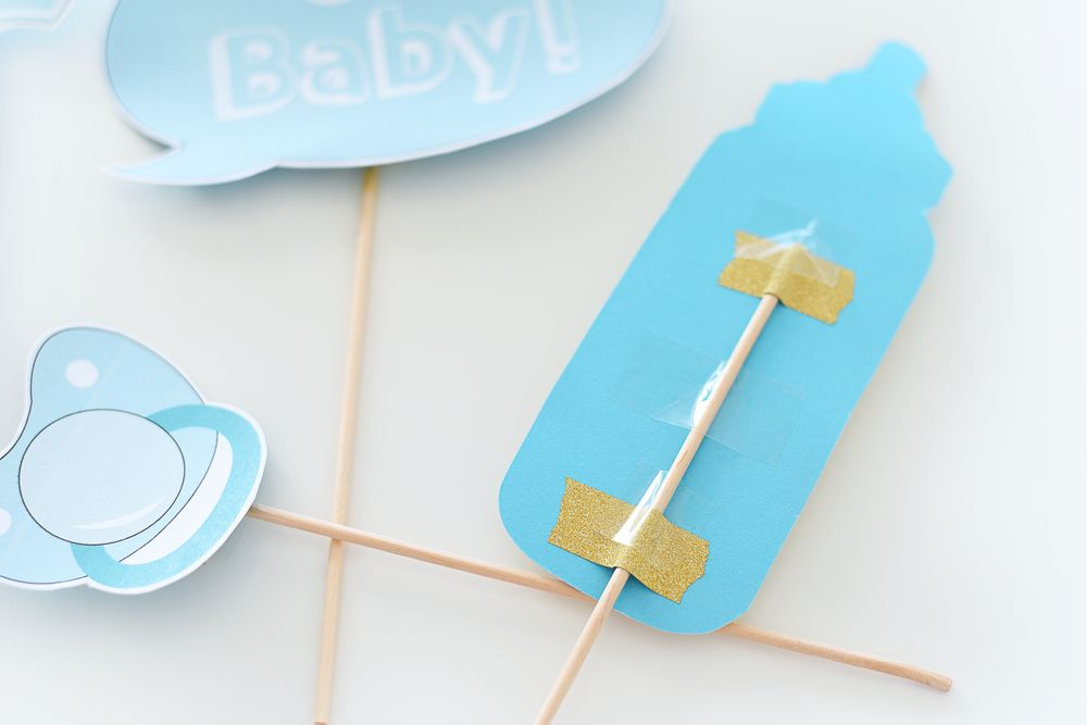 Baby shower - rekwizyty do druku | Polenka.pl