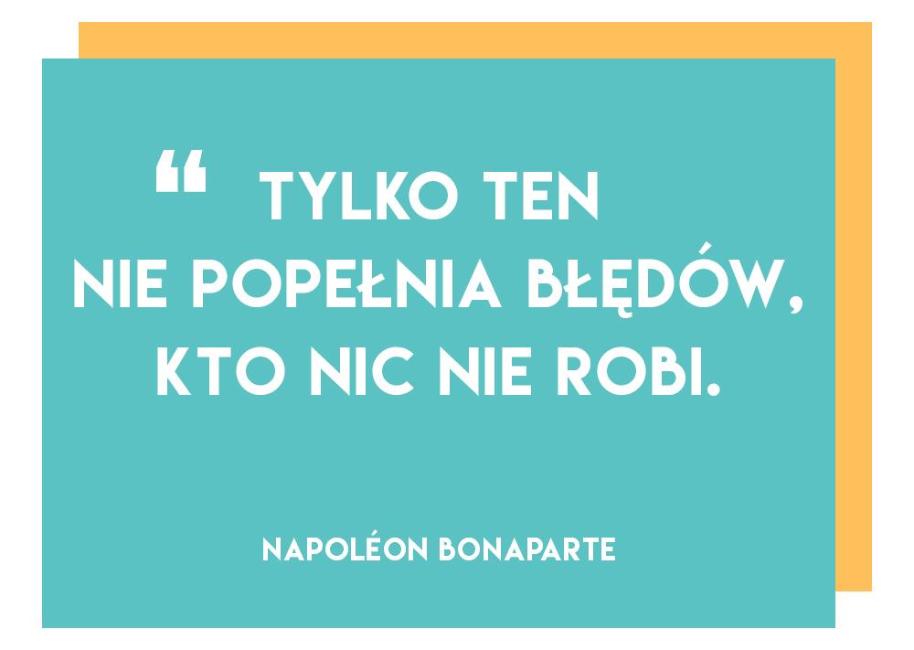 Perfekcjonizm - tylko ten nie popełnia błędów   Polenka.pl