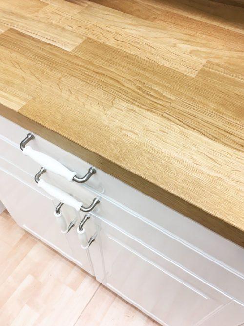 IKEA drewniane blaty kuchenne