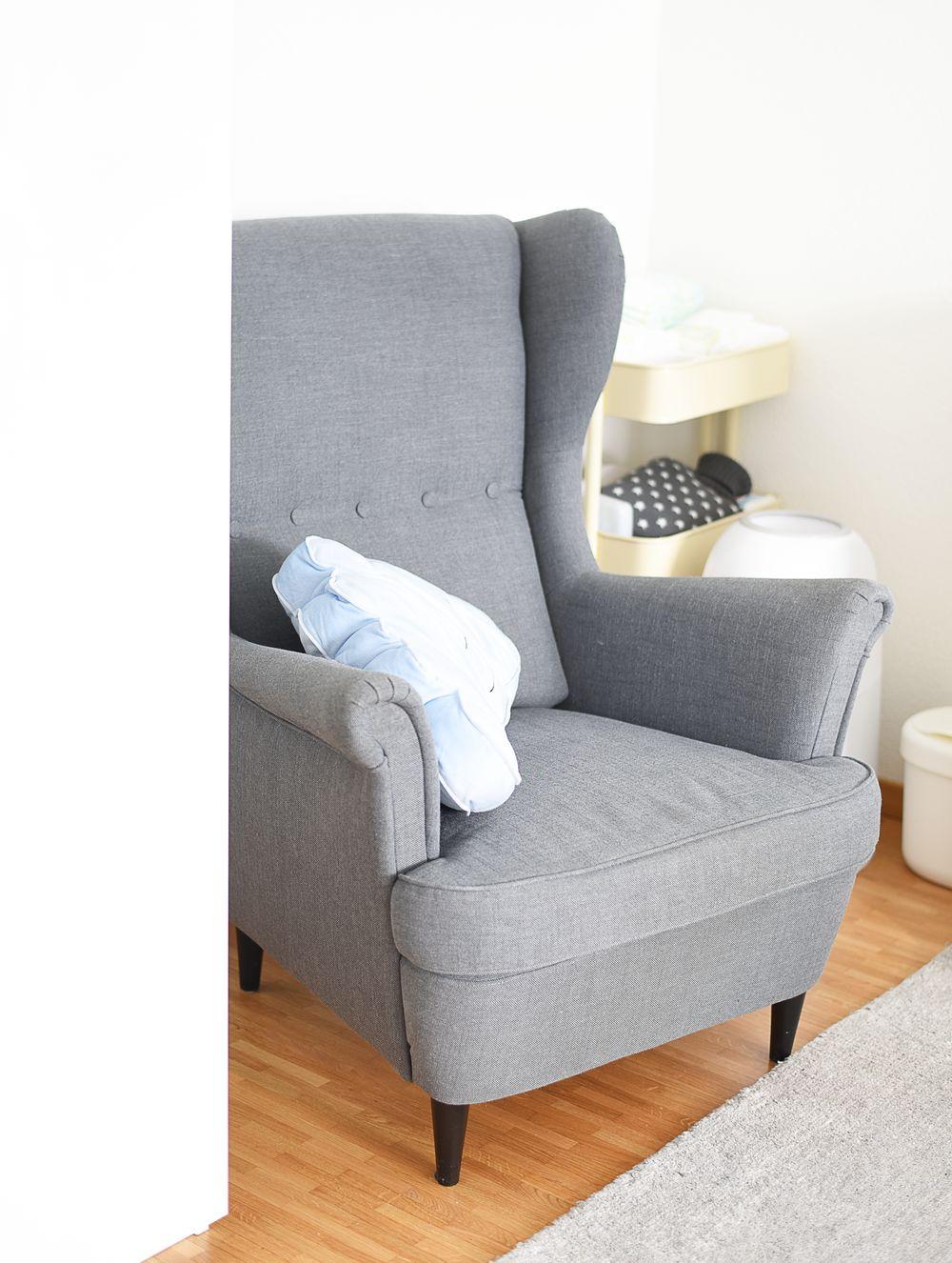 Fotel do karmienia IKEA uszak