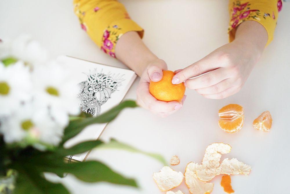 Mandarynki - zapach świąt