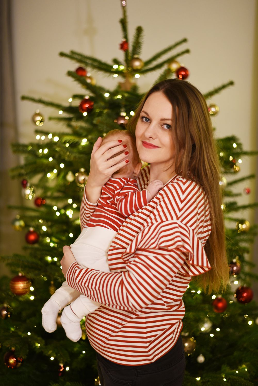 Święta z niemowlakiem