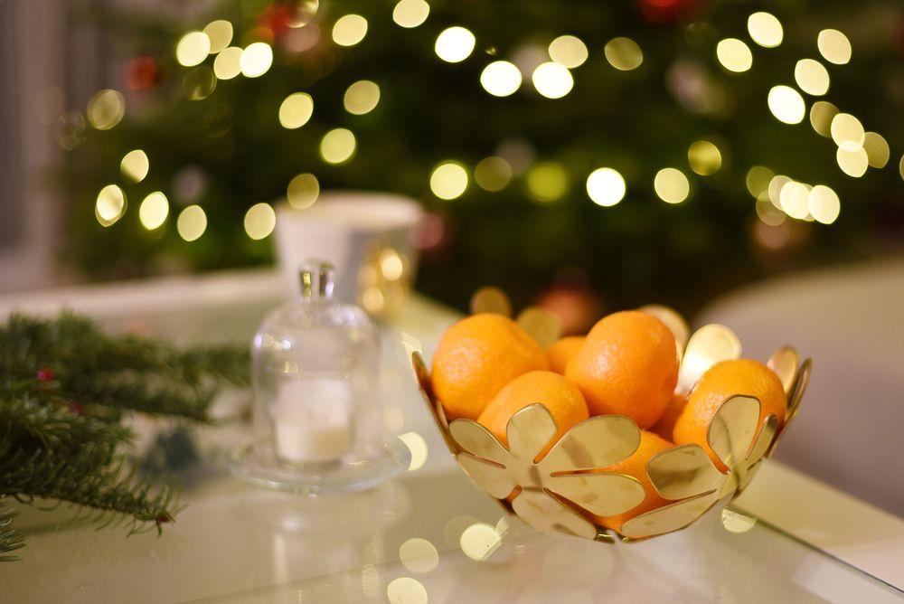 Świąteczny klimat - mandarynki