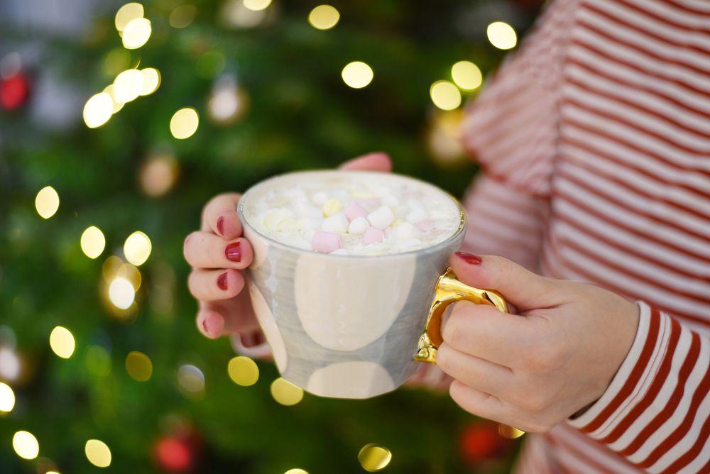 Kawa z piankami marshmallow