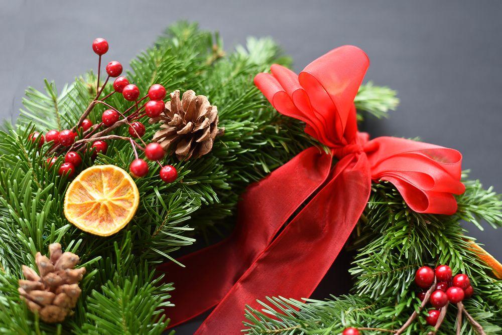 Wieniec na Boże Narodzenie DIY