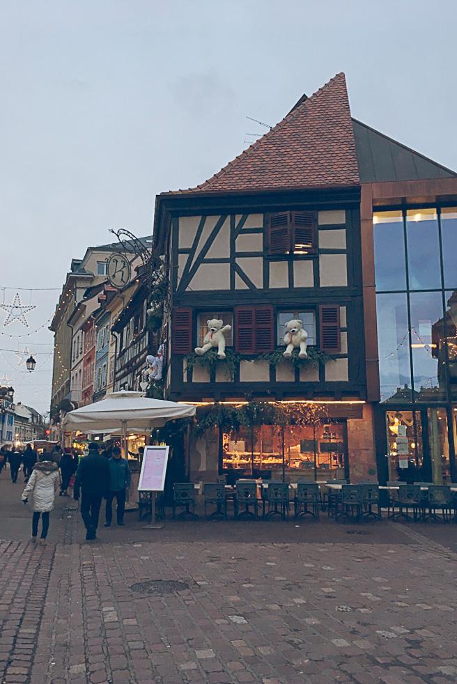 Colmar architektura