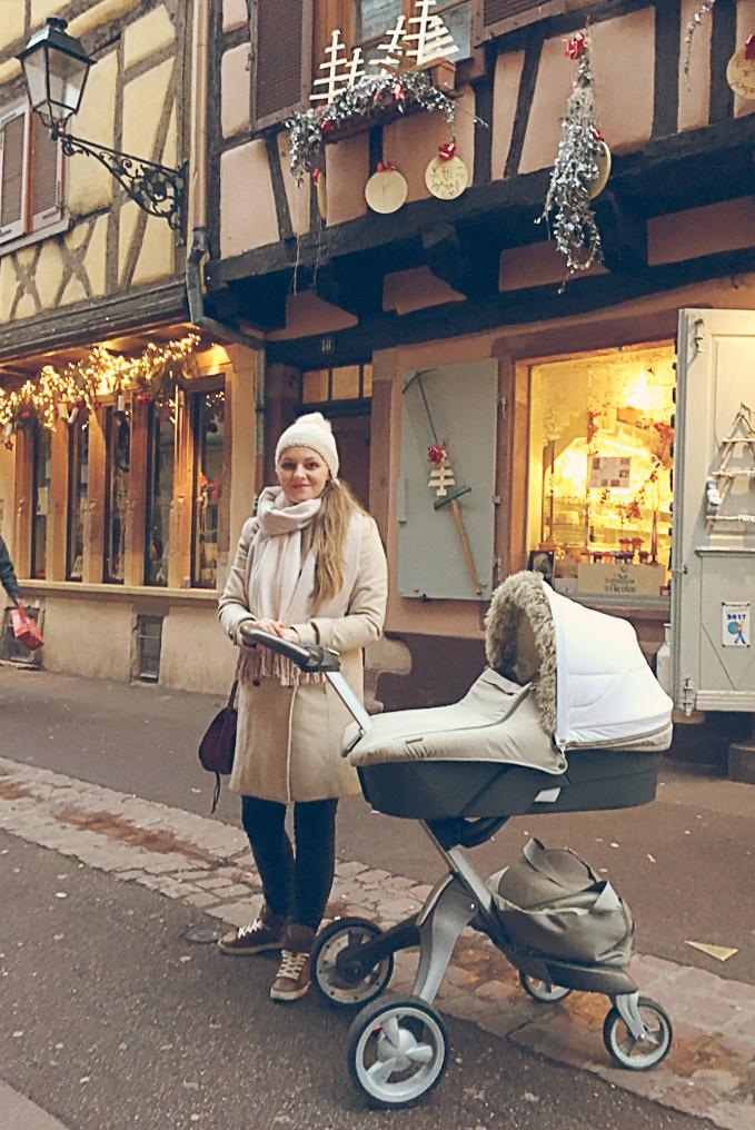 Colmar świąteczne miasteczko