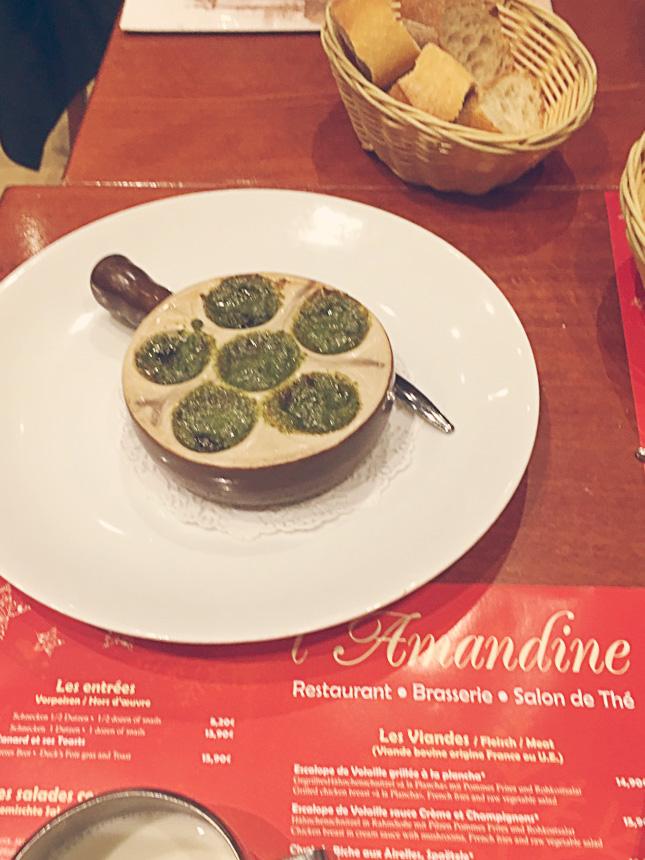 Colmar restauracja l'Amandine