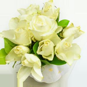 Znaczenie kolorów kwiatów - biały