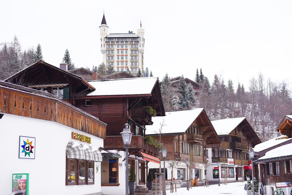 Gstaad - Hotel Palace