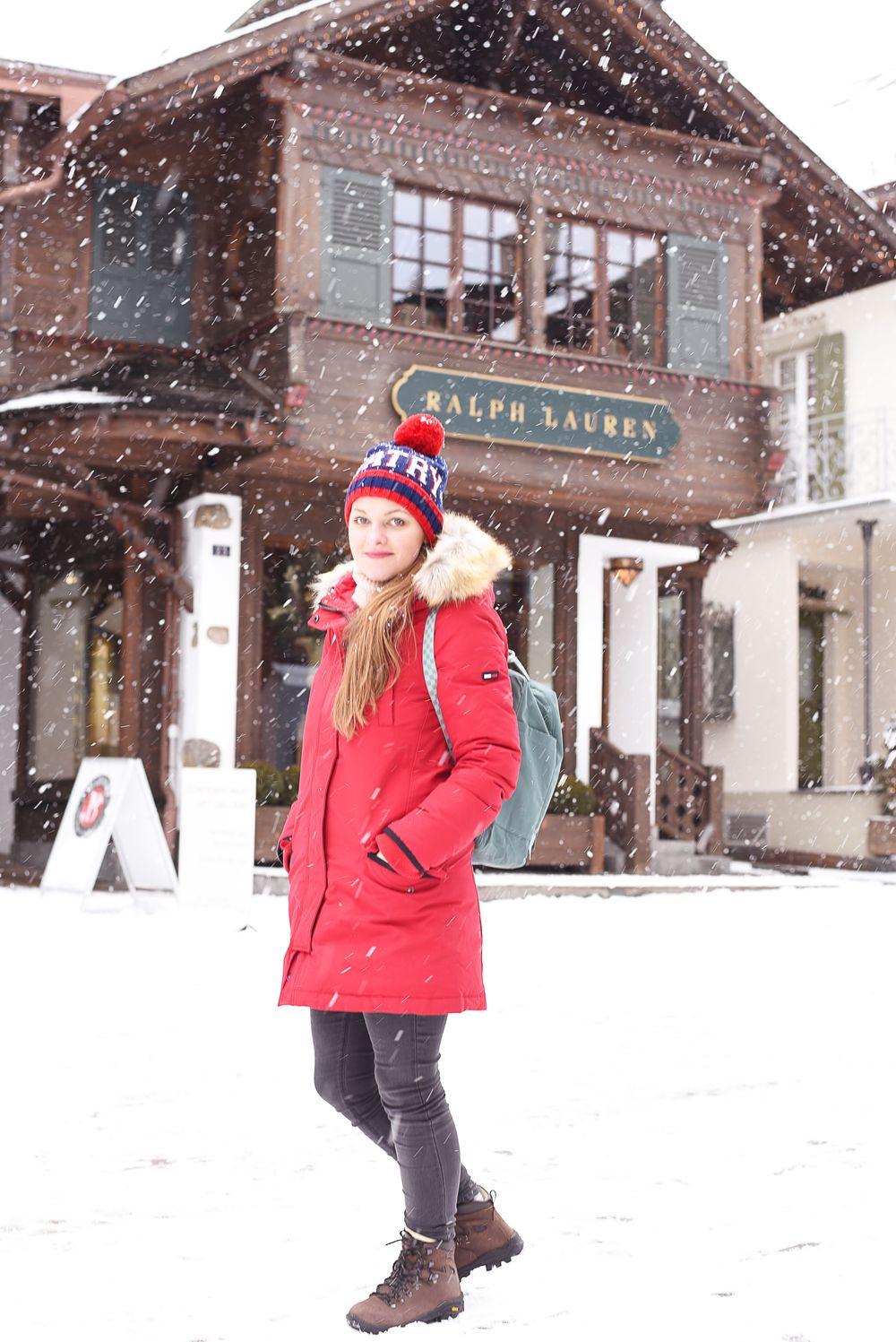 Gstaad - sklepy Ralph Lauren
